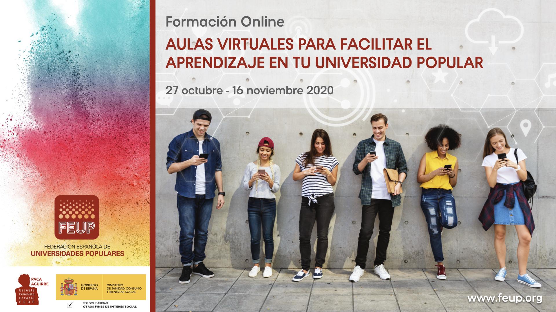 Course Image Aulas Virtuales para facilitar el aprendizaje permanente en tu Universidad Popular